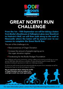 Bodie Hodges Foundation Great North Challenge 2017
