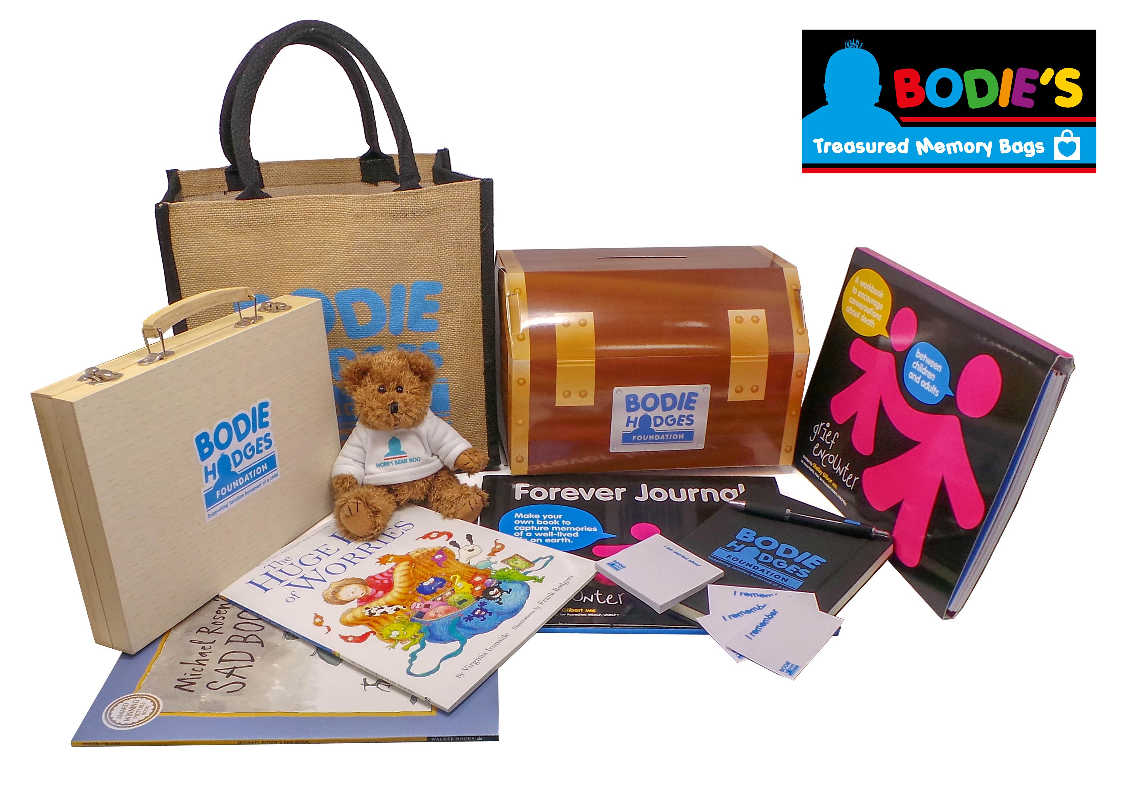 Bodie's Treasured Memory Bags