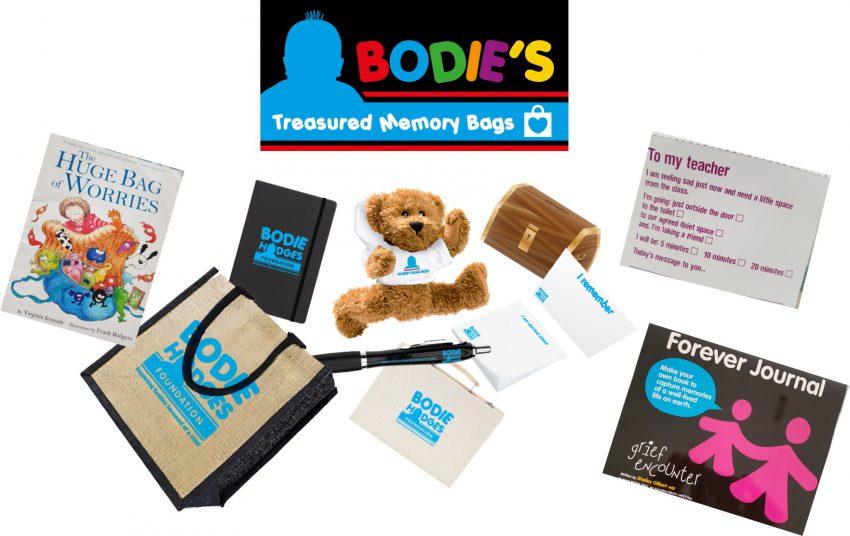 Bodie's Treasured Memory Bags…